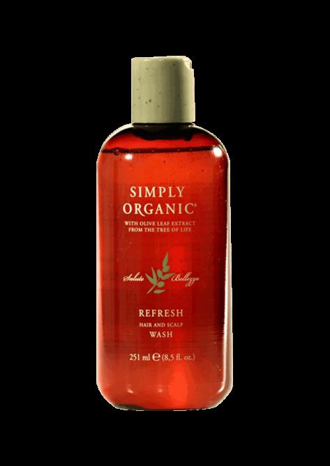 Simply Organic Refresh Wash Shampoo Purificante