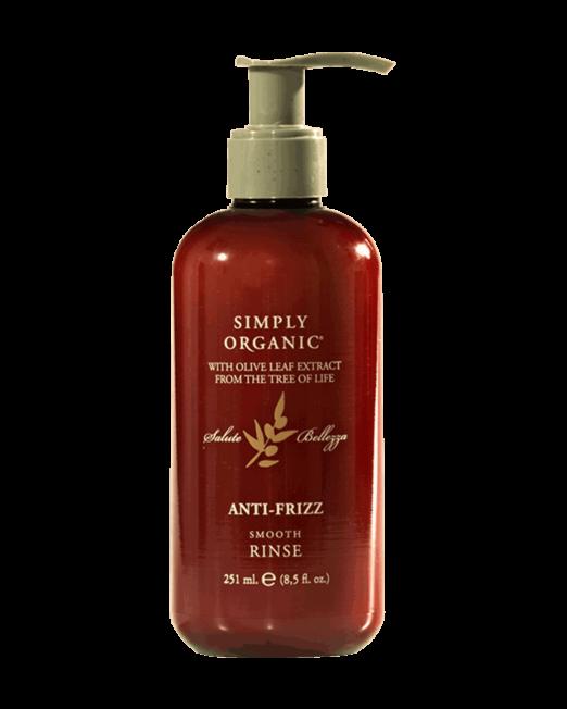 anti frizz smooth rinse