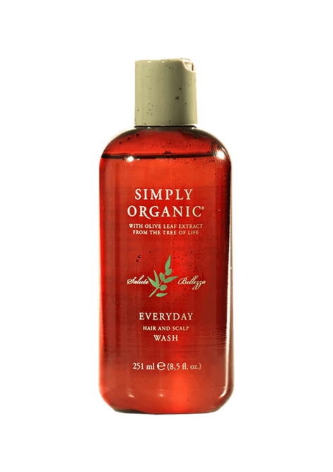 Simply Organic Everyday Wash Shampoo Giornaliero