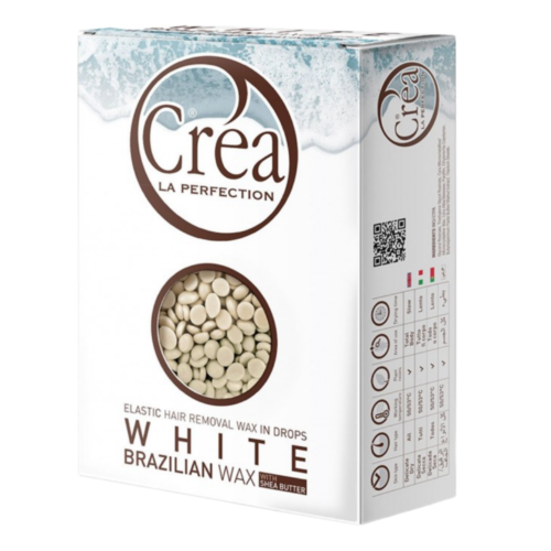 white brazilian wax